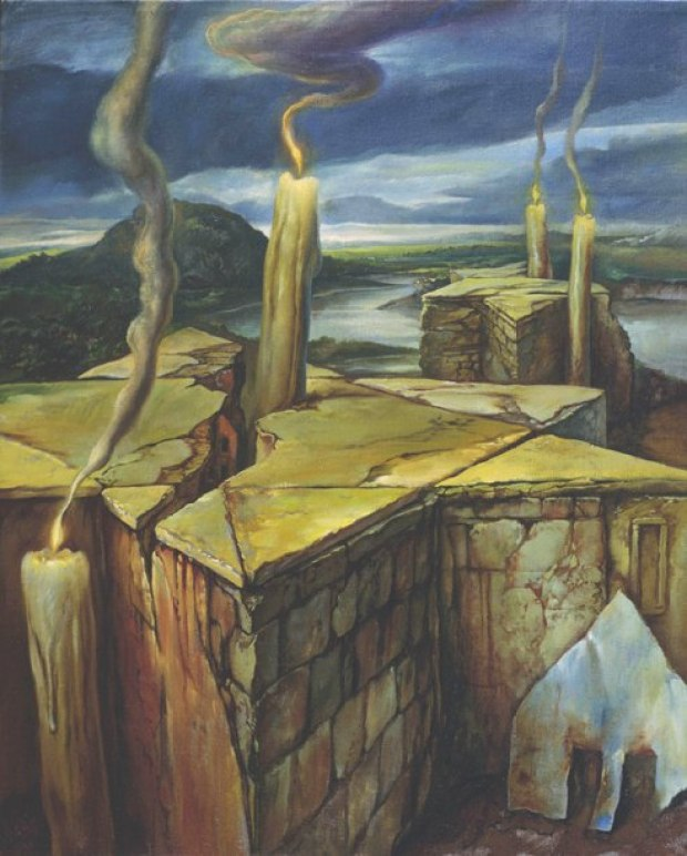 samuel bak 082 Холокост в еврейских картинах Самуила Бака (Samuel Bak)