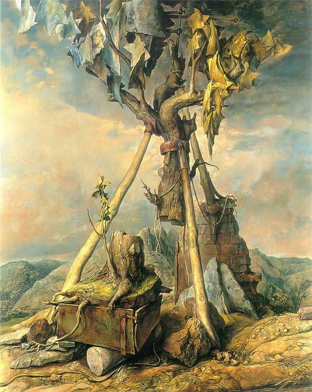 samuel bak 086 Холокост в еврейских картинах Самуила Бака (Samuel Bak)