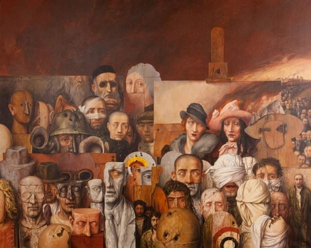 samuel bak 088 Холокост в еврейских картинах Самуила Бака (Samuel Bak)