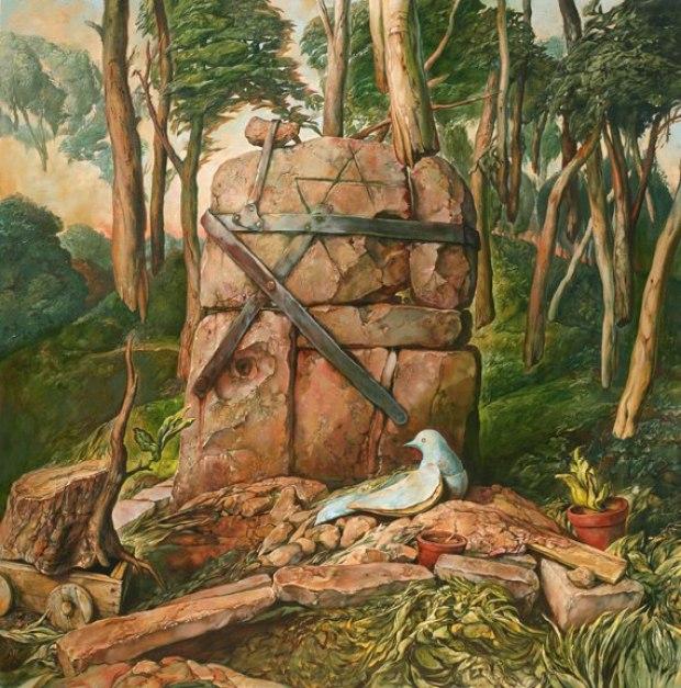 samuel bak 089 Холокост в еврейских картинах Самуила Бака (Samuel Bak)