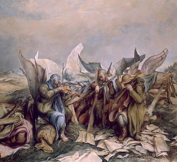 samuel bak 090 Холокост в еврейских картинах Самуила Бака (Samuel Bak)