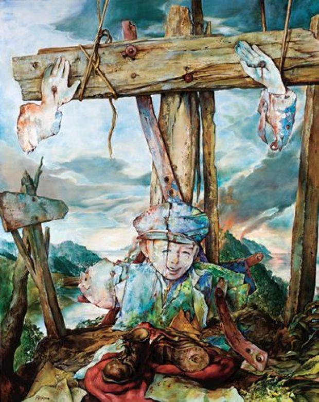 samuel bak 091 Холокост в еврейских картинах Самуила Бака (Samuel Bak)