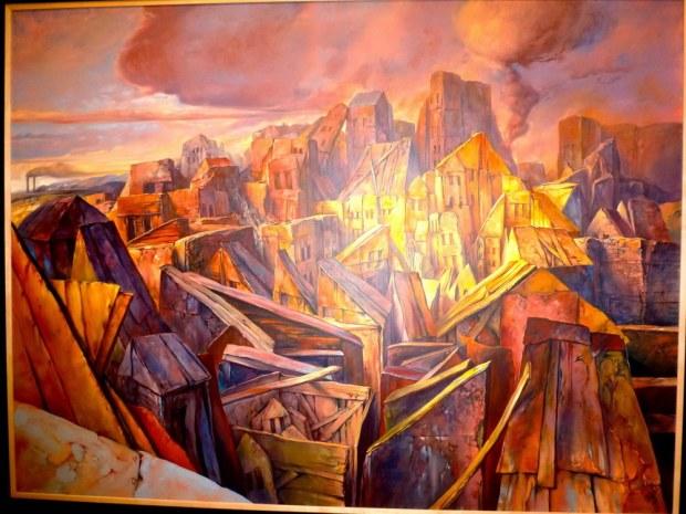 samuel bak 095 Холокост в еврейских картинах Самуила Бака (Samuel Bak)