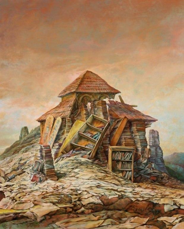 samuel bak 102 Холокост в еврейских картинах Самуила Бака (Samuel Bak)
