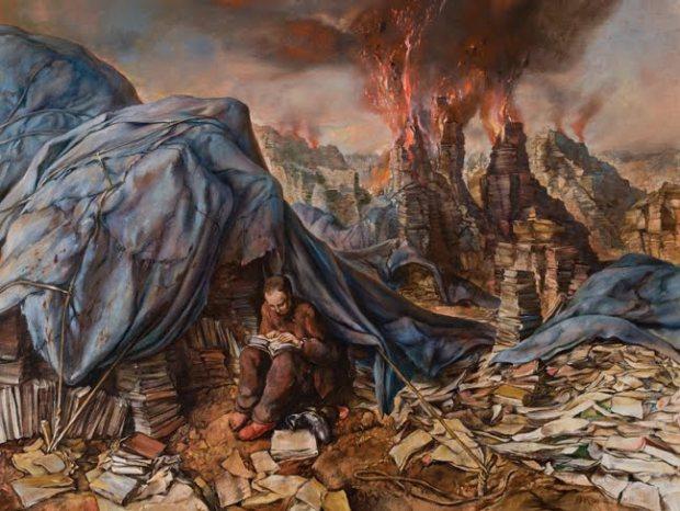 samuel bak 113 Холокост в еврейских картинах Самуила Бака (Samuel Bak)