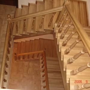 Лестница из дуба - Ватутинки