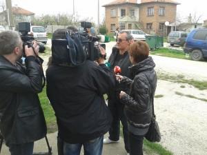 Медиите в акция. Фото: Evromegdan.bg