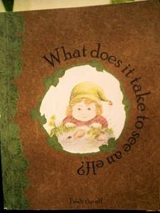 """Книгата """"What does it take to see an elf?"""", написана от елфа Фроди Фото: Лени Ханджийска/ Евромегдан"""