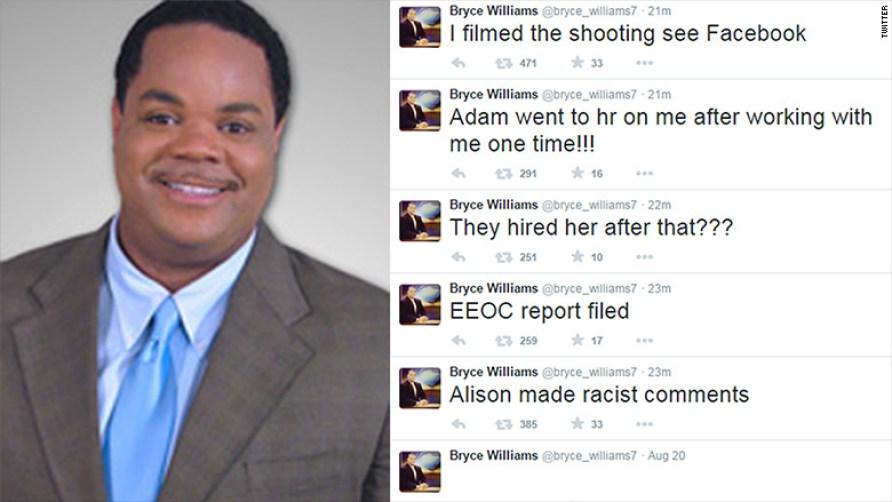 Скрийншот от профила на Фланаган непосредствено след убийствата