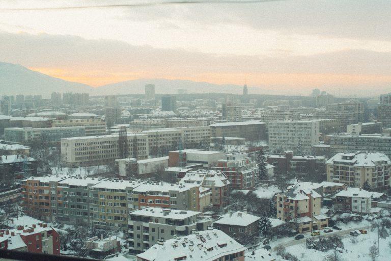 Пейзаж на София от кв. Слатина. Фото: Георги Бонев/Евромегдан