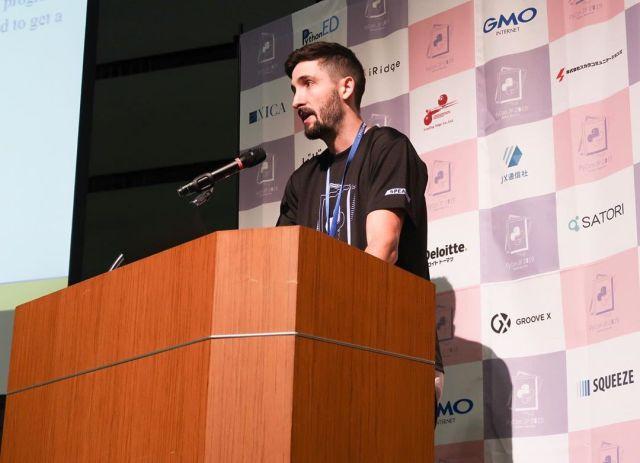 Cory Althoff at Pyconjp