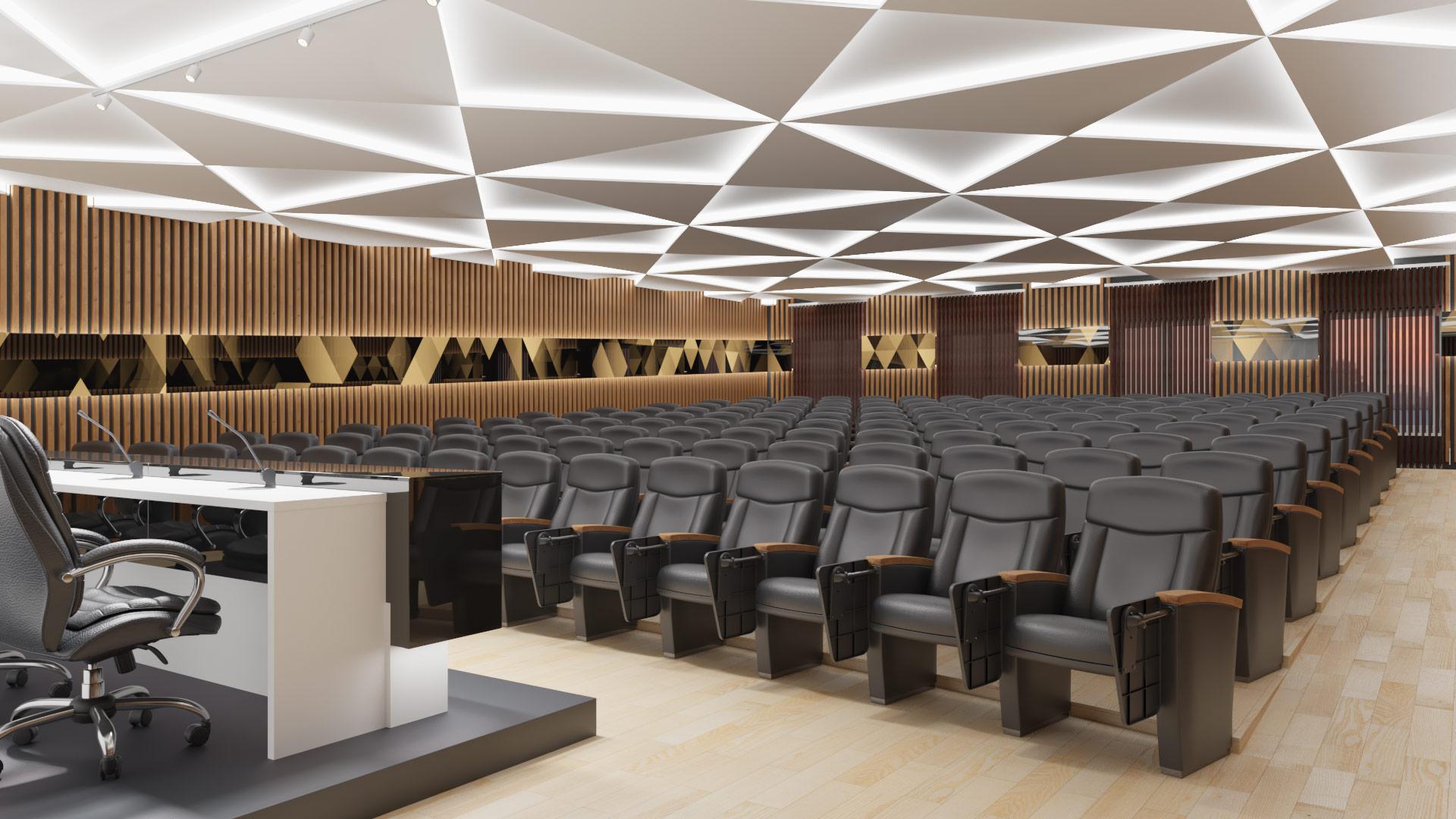 Интерьер конференц-зала Белгородского Юридического Института