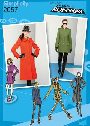 Выкройка Simplicity — Куртка, Пальто - S2057 ()