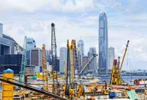 asian construction boom