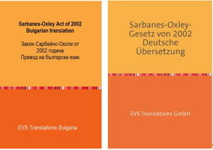 translations of the Sarbanes-Oxley Acts