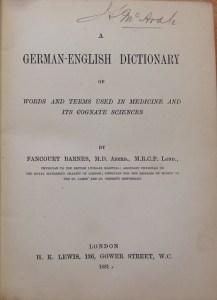 Fancourt Barnes und sein Wörterbuch der medizinischen Fachbegriffe - EVS Translations
