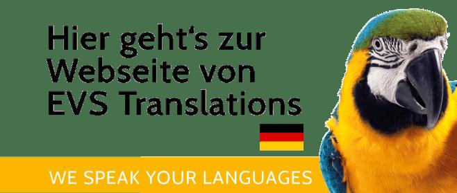 Hier geht's zur Webseite von EVS Translations