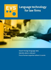 """""""Machine Translation"""": A Viable Solution for Law Firms?"""