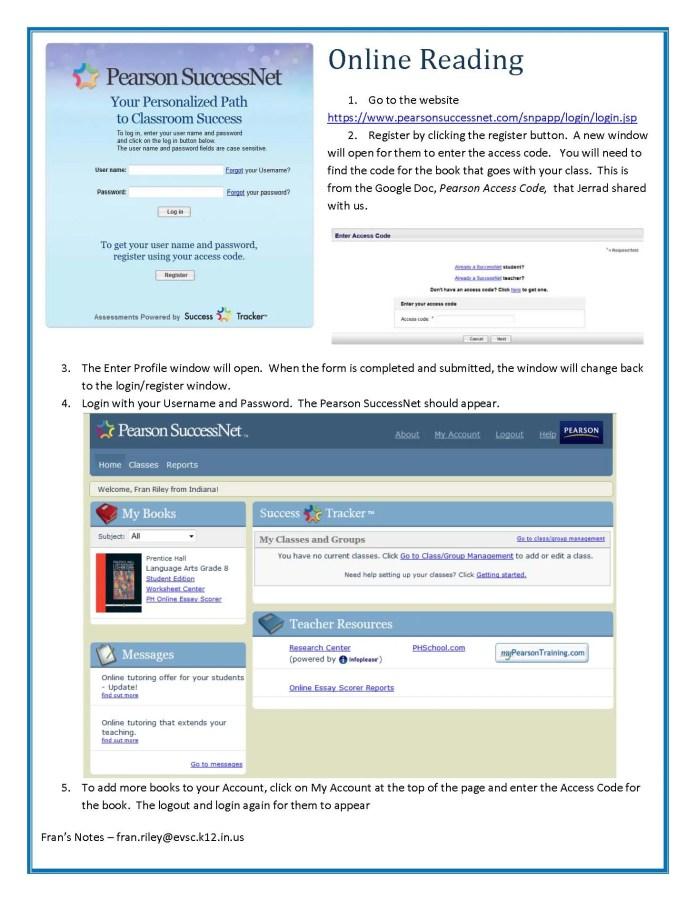 pearson-successnet-registration