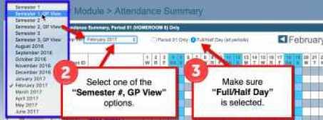 Perfect Attendance Steps 2-3