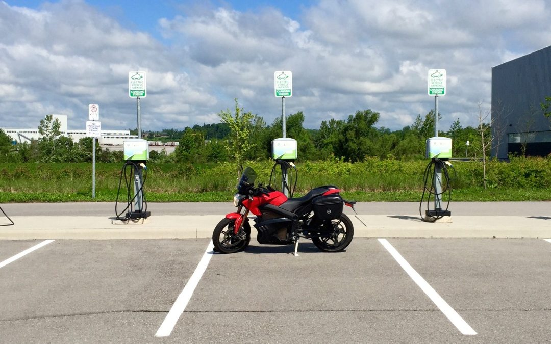 """I rode an electric motorcycle 1,000km for a cost of about $8"""