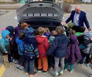 Kids love EVs