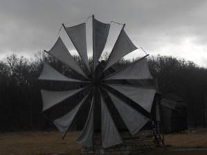 "Windmill in ""ASTRA"" museum in Sibiu"