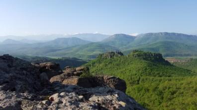 View over the Mountains in Belogradschik