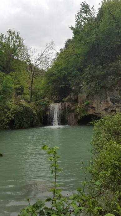 Waterfall in Kaya Bunar