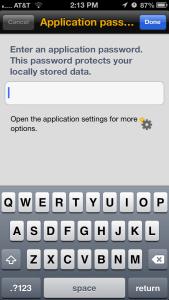 Explorer Application Password Prompt