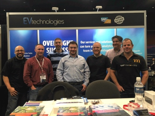 EV Technologies at SAP Insider BI 2015