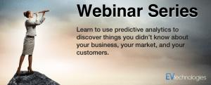 Predictive Analytics webinar banner