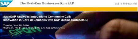askSAP about SAP BI 42
