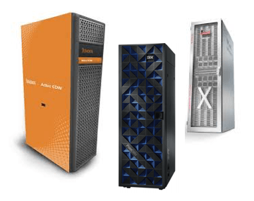 Big Iron from IBM Neteeza, Oracle Exadata, and Teradata