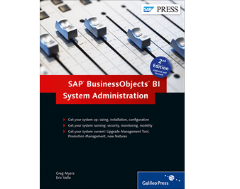 SAP Press BI Admin 2nd Edition Book Cover