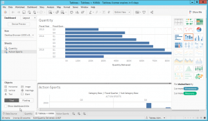 Tableau Dashboard based on SAP HANA data