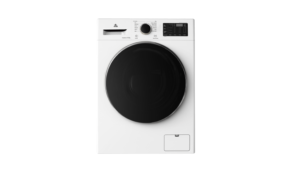 evvoli washing machine EVWMFDDM White