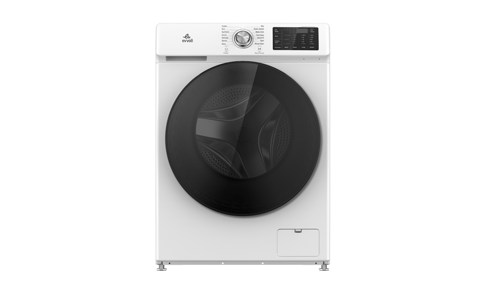 evvoli washing machine -EVWM-FDDS-914-White