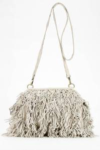 Nala Russo Leather Fringe Crossbody Bag, $98; urbanoutfitters.com