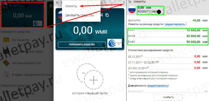 شناسایی تعداد کیف پول WebMoney ایجاد شده و محدودیت نصب شده بر روی آن