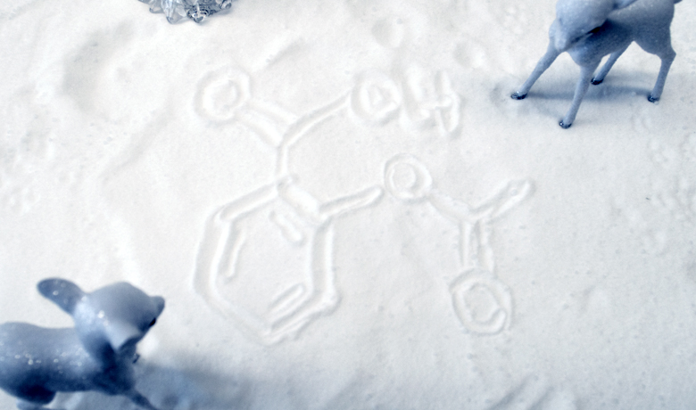 Aspirin in the snow