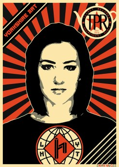 music poster HANNAH TRIGWELL by Ewan McGee