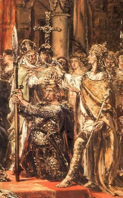 Jan Matejsko - Koronacja Bolesława Chrobrego