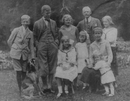 Rodzina Szeptyckich z Przyłbic (1928 r.)