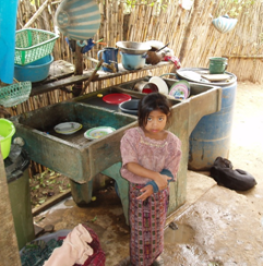 A young resident of Simajhuleu