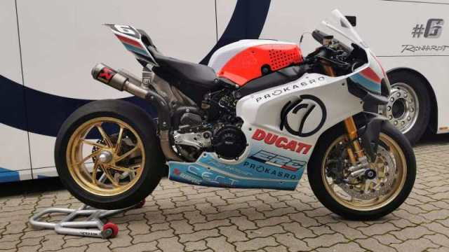 Team ERC Endurance joins forces with Ducati