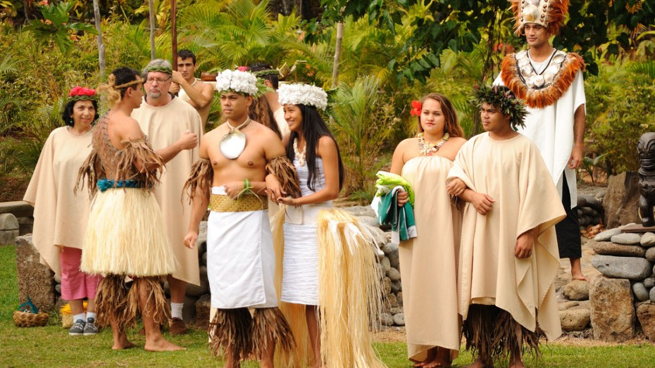 Performers at Polynesian Cultural Center