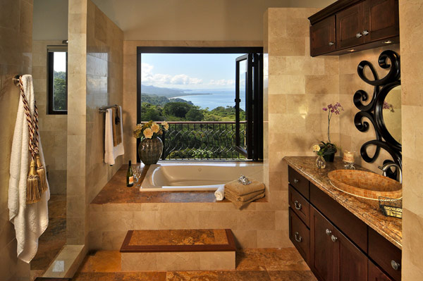 Shower Large Stone Sink Casa Hannah In Bali Indonesia By Bo Design
