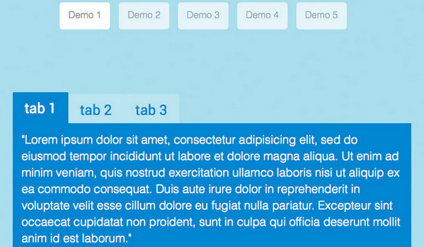 Creating Content Tabs with Pure CSS