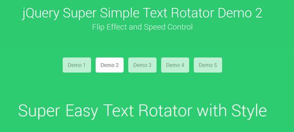 Super Simple Text Rotator